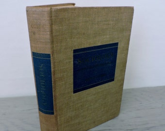 Vintage Textbook - Sociology. A Synopsis Of Principles - 1947 - Mid Century Textbook
