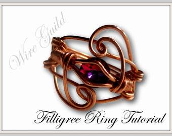 Filigree Wire Ring Tutorial
