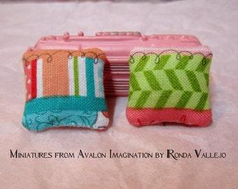 RESERVED custom order for Jill - Two pillows
