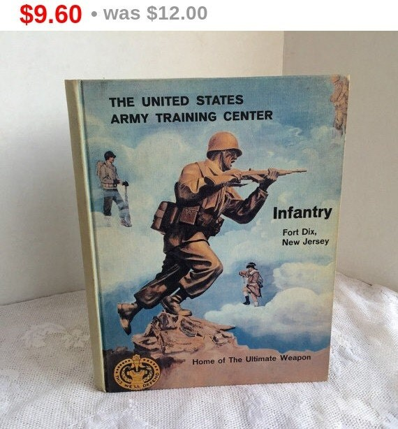 Dad's Day Sale Fort Dix Basic Training Yearbook By