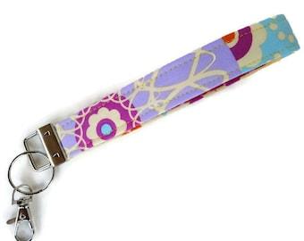 Key Fob, Key Chain, Wristlet Key Chain, Keychain, Wristlet for Keys with a Large Swivel Lobster Clasp~~ReADY To ShIP~~