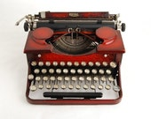 Red Typewriter, Royal for DISPLAY ONLY