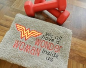 Work Out/Gym Towel-Wonder Woman