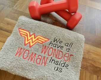 Work Out/Gym Towel-Wonder Woman