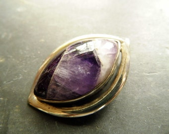 Pendant, silver, sterling silver, Amethsyt, purple, jewelry, necklace