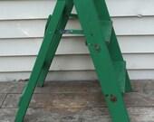 Vintage Wood Step Stool