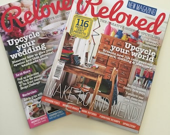 Reloved Magazine Issues Spring 2013 and June 2014