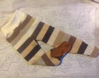 Footie Wool/cashmere longies