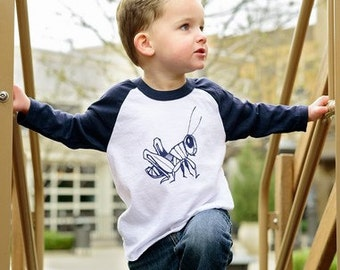 Grasshopper Toddler Tee and Infant Tee