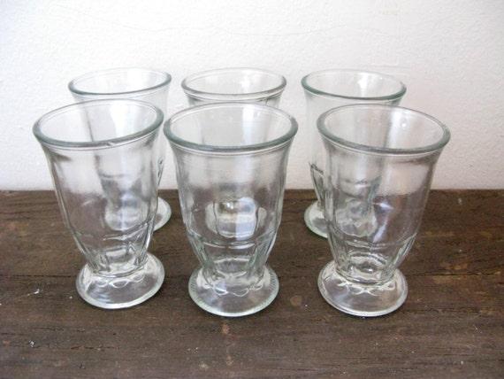 sau sea foods shrimp cocktail jars juice glasses set of 6. Black Bedroom Furniture Sets. Home Design Ideas