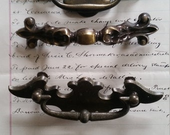 Antique Metal Drawer Pulls and Handles | Salvage Hardware Lot No.01