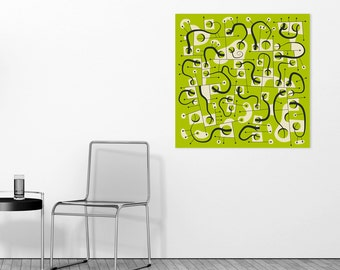 Ready-to-Hang, Wall Art for the Home Decor, 'A DIFFERENT WORLD'