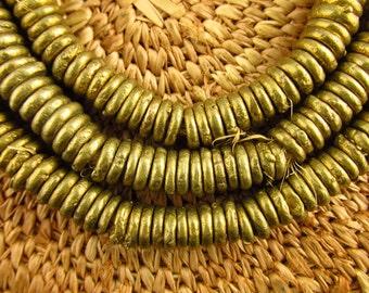Nigerian Brass Ring Beads