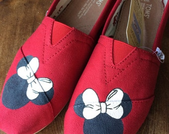 Minnie Mouse Custom TOMS