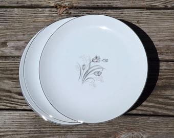 Mid Century Fine China. Set of 4 Dinner Plates. Creative Royal Elegance.Japan. 2 Avail. -  VC238 VC239 VC240 VC241 VC242 VC243 VC244 VC245