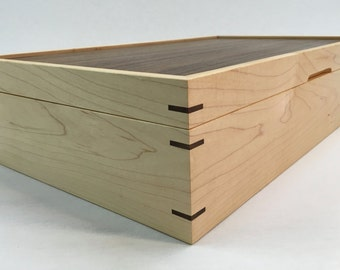 Custom Maple Tea Box