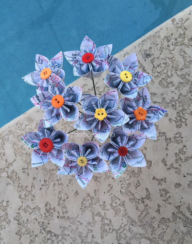 how to make a origami stem