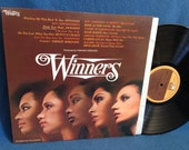 "Vintage, ""Winners"" Disco R&B Soul Compilation, Vinyl LP, Record Album, The Jacksons, Kool And The Gang, Isaac Hayes, Shalamar, Raydio"