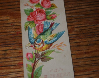 Book Mark - Dated 1885