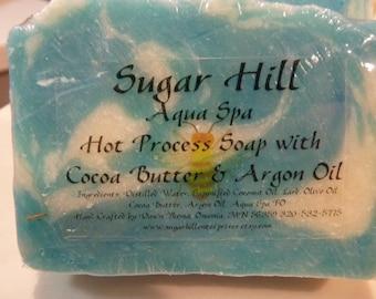 Sugar Hill Aqua Spa Hot Process Soap