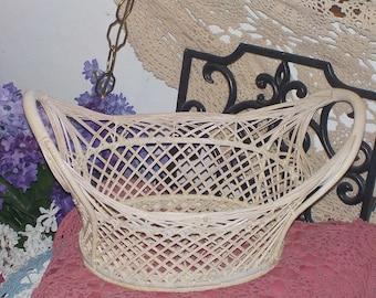 Oval Wicker Basket Very Pretty :)