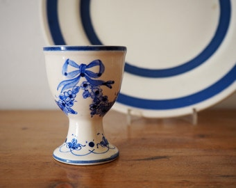 Egg Cup - Blue and White China Egg Cup