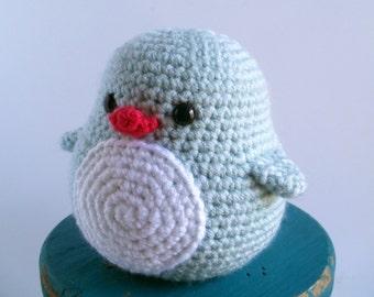 Frost the Baby Crochet Penguin