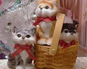 Kitten in a Basket for American Girl Dolls