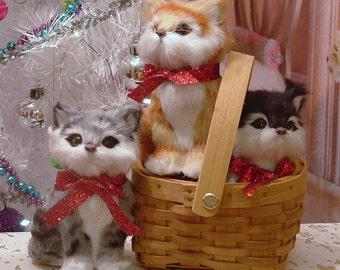 Kitten in a Basket for American Girl Dolls