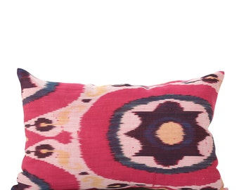 15 x 23 Pillow Cover Ikat Pillow Cover Old Ikat Pillow Cover Throw Pillow Decorative Pillow FAST SHIPMENT with ups or fedex - 09003