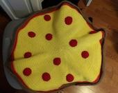 Custom order for Dana- Pizza blanket