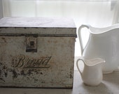 Reserved For BECCA Vintage Bread Box