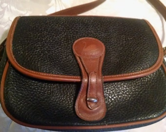 Classic Collection Black and Tan  Shoulder Bag