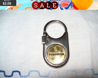 SALE 60% Off VintageTourneau advertising key Fob in box