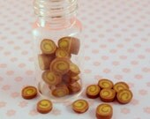 1:12 scale.....Jar of Banana Toffee...dolls house miniature food by Small Portions
