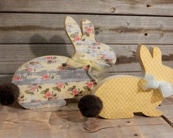 Easter Bunnies..set of 2