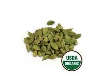 USDA Organic Guatemala Green Whole Cardamom Pods Elettaria Cardamomum 1oz - 16oz