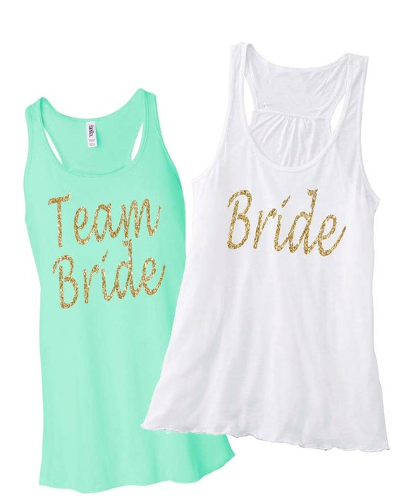Team Bride Tank Top, Bride Shirt, Just Crazy, Bridesmaid Gifts, Bridesmaid Shirts, Bridesmaid Tank Tops, Bachelorette Party Shirts, Bride