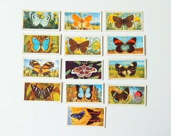 Butterflies - Brooke Bond Tea Cards, Scrapbooking, Journalling, Paper Ephemera  Supplies