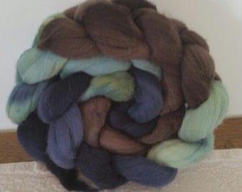 Wool Roving- Woodland