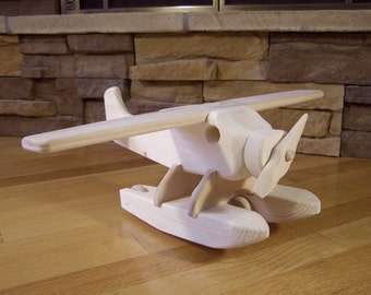 Wooden Float Plane Toy
