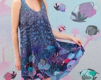 Water sounds - summer dress