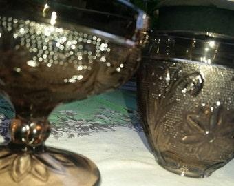 LAVENDAR GLASS 2 PC
