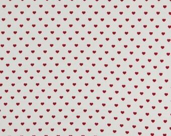 Fine organic cotton - Poplin heart 100%