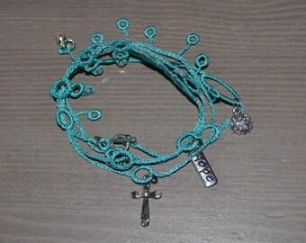 Wrap Charm Bracelet