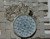 Silver Unit Circle Necklace