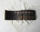 Flat Bracelet Jewelry Display Block - Jewelry Prop - Recycled Piano Part - Ready to Ship