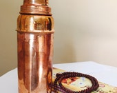 Vintage Copper Water Bottle Ayurveda