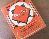 Roto King Turn Table Vintage Lazy Susan for Board Game Rotation