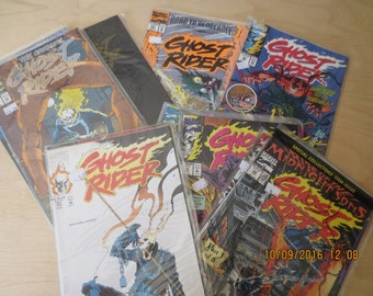 GHOST RIDER 17, 19, 21, 23,28, 30, 31, 32,33, 35, 36, 40, 41 NEVER Read In Plastic Mint Box 16